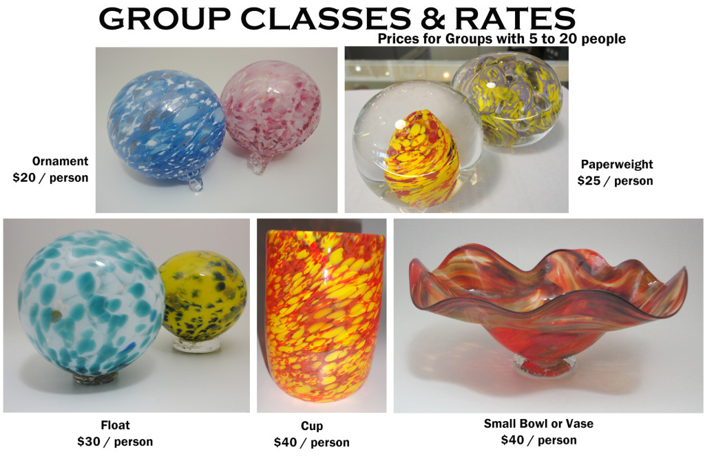 Glass Blowing Classes and Workshops