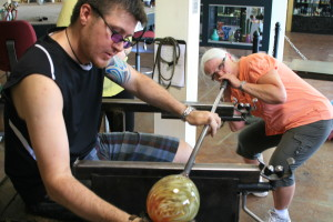 Glass Blowing Furnace Classes - Boise Art Glass